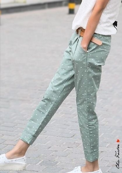 Chino pants for women