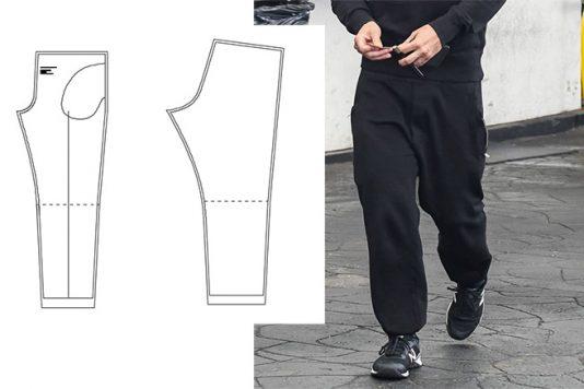 Men's sports pants (Sizes 44-60)