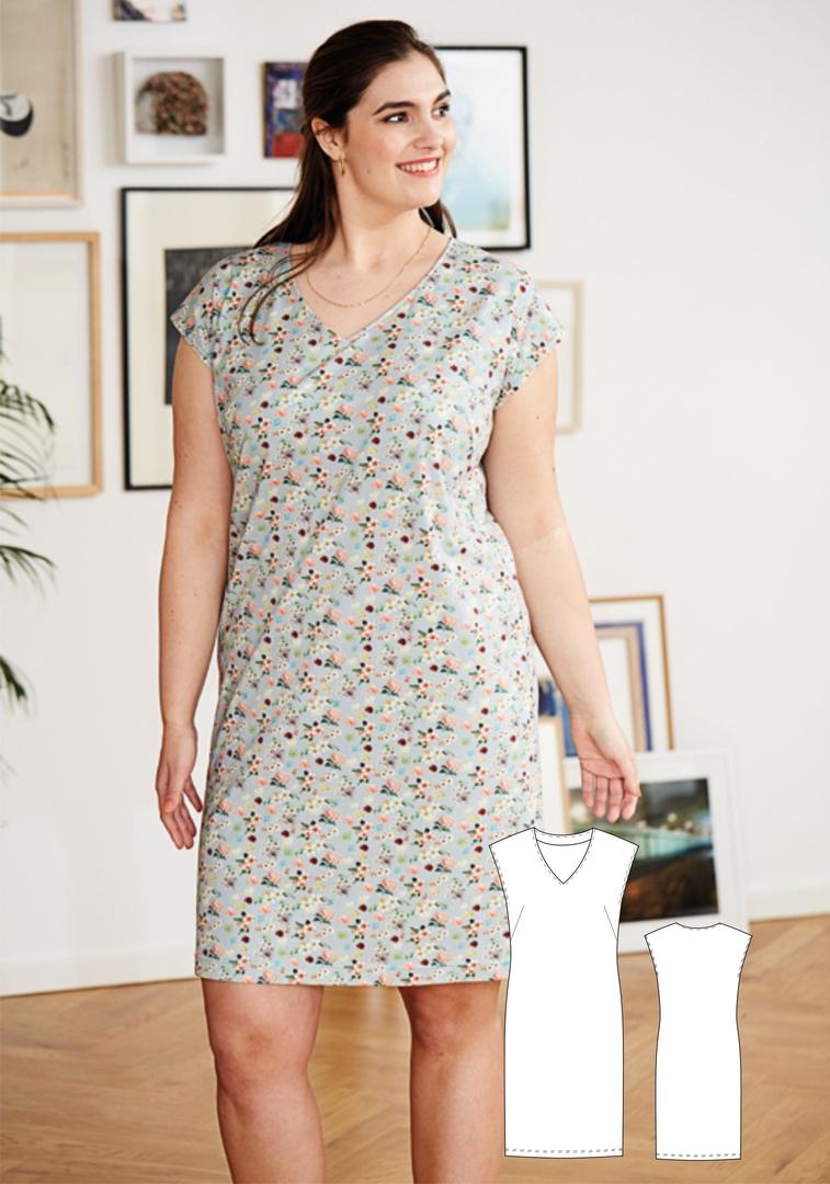 Plus Size Dress (Sizes 46-56)