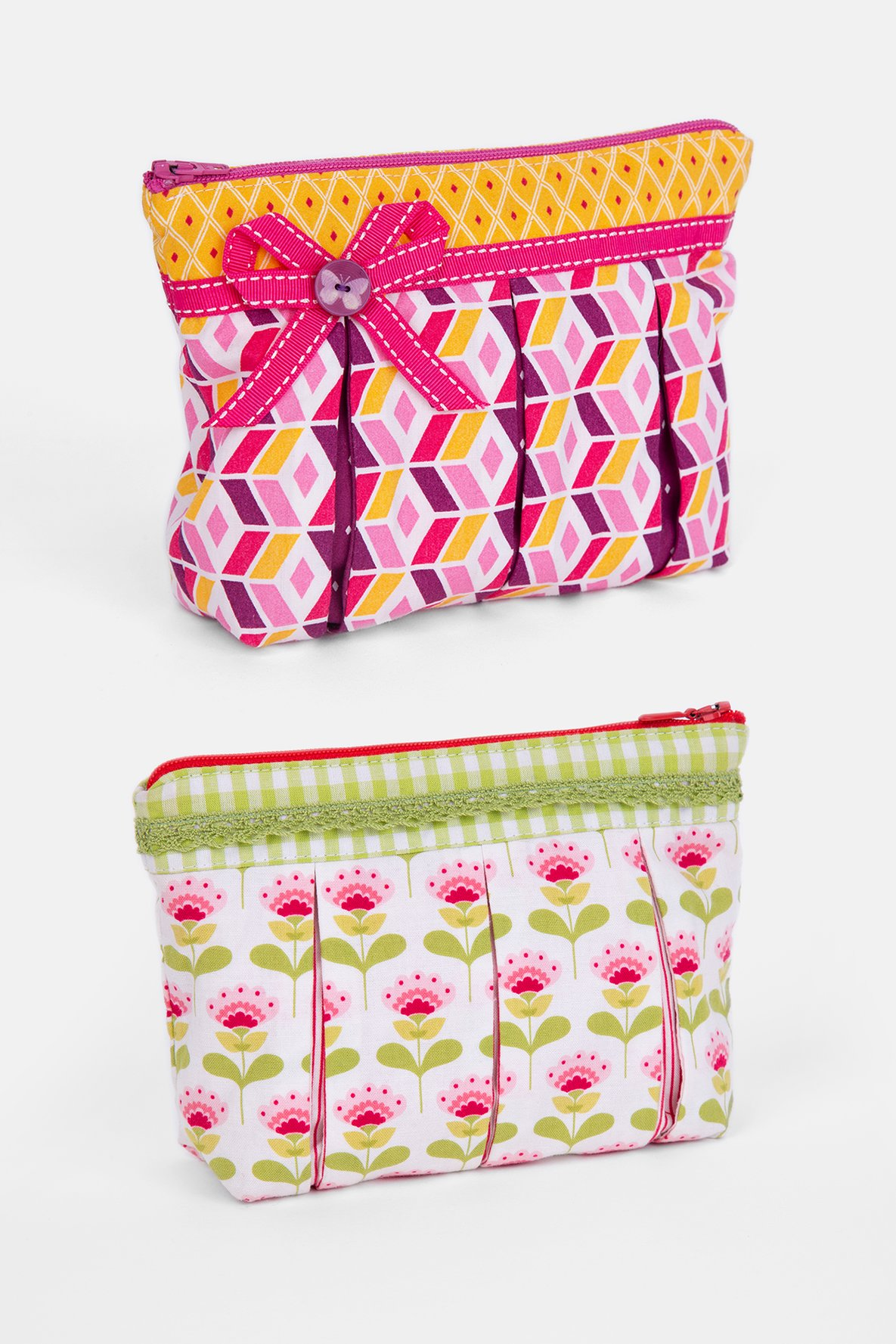 Sewing pattern Zippered Pouch