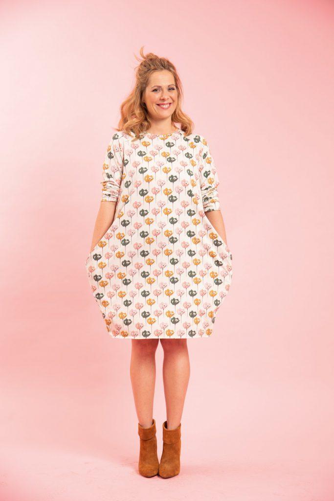 Women Dress Free Sewing Pattern