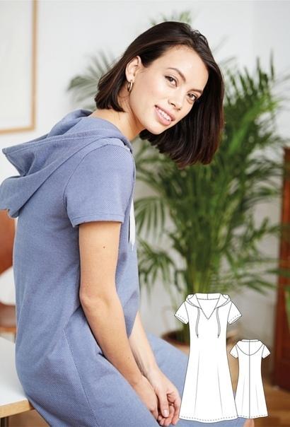 Women's knitted dress Sizes 36-46 Eu