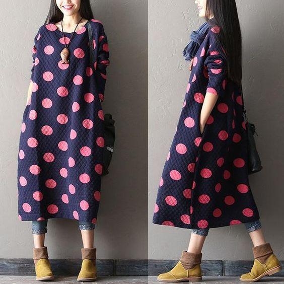 Boho Dress - Free Sewing Pattern (Sizes 36-44)