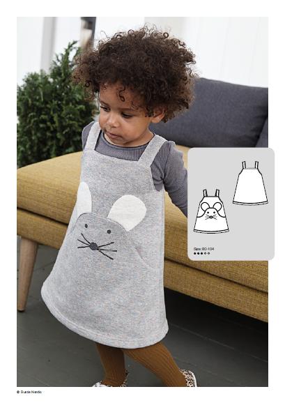 Baby Dress - Free Sewing Pattern (Sizes1-4 Years)