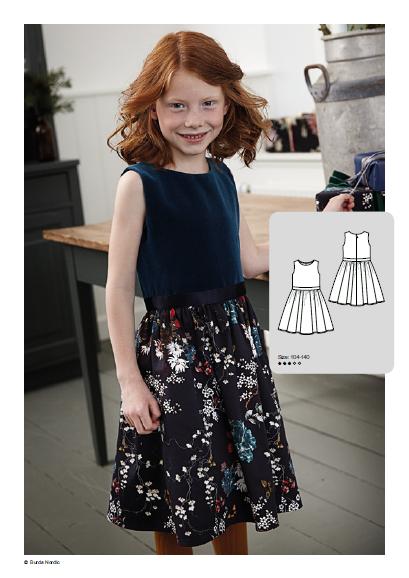 Girl Dress - Free Sewing Pattern (Sizes 4-10 Years)