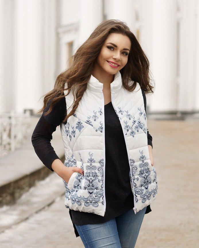 Vest Pattern For Women (Sizes 44-50 Eur)