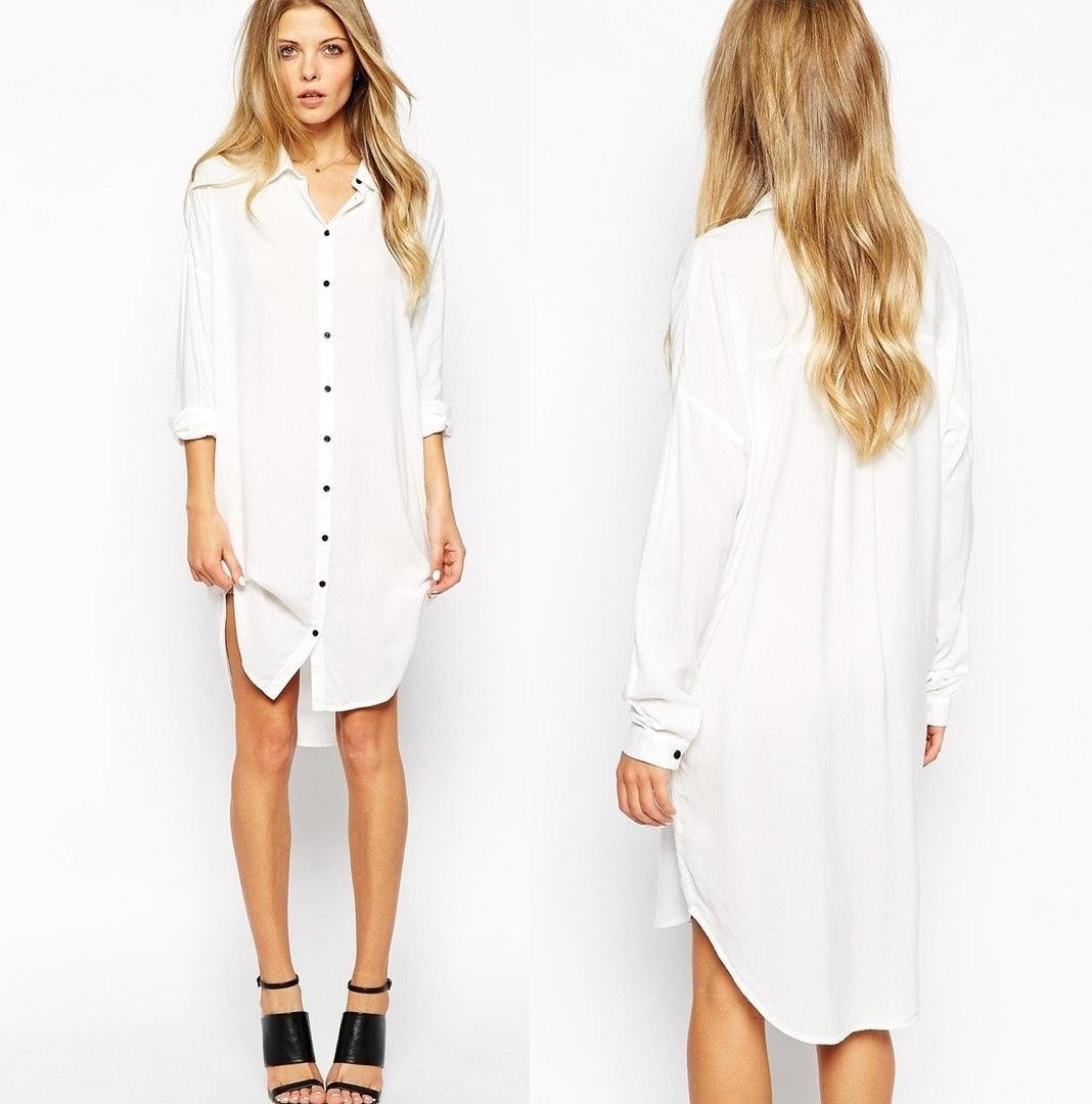 Shirt Dress For Women - Free Sewing Pattern (Sizes 36-44 Euro)