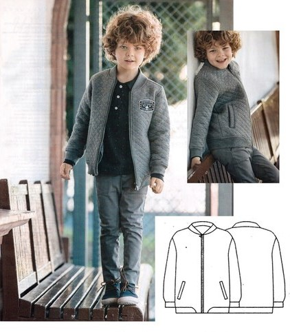 free bomber jacket sewing pattern for boys