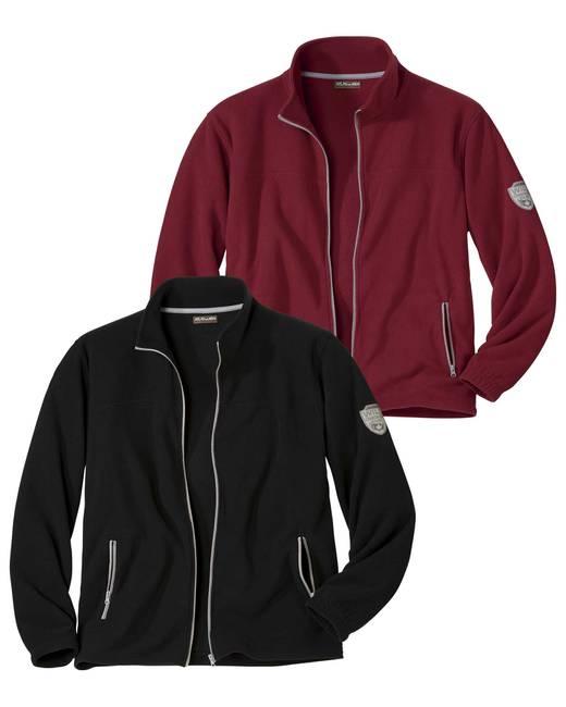 Men's Fleece Jacket - Free Sewing Pattern (Sizes 48-56 Eur)