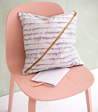Cushions With Diagonal Zippers