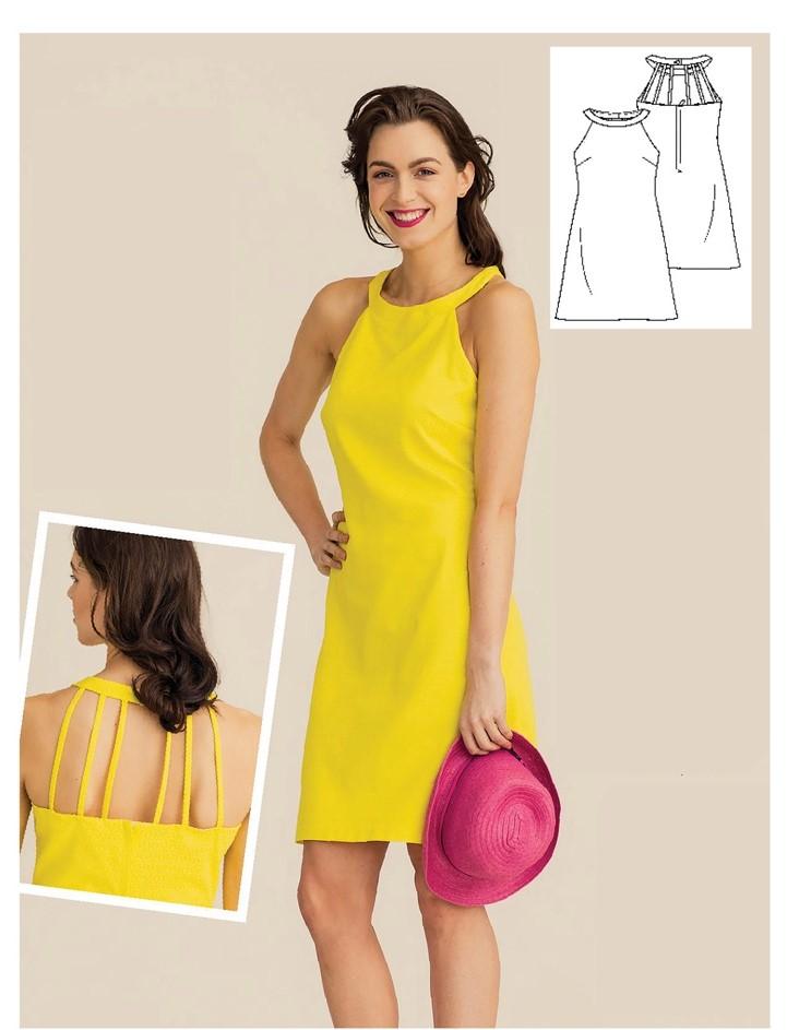 Dress Sewing Pattern For Women (Sizes 34-54 Eur)