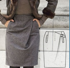 Skirt Sewing Pattern For Women (Sizes 36-46 Eur)