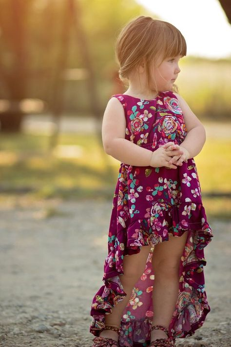 Mullet Dress Sewing Pattern For Girls (Sizes 1-14 Years)