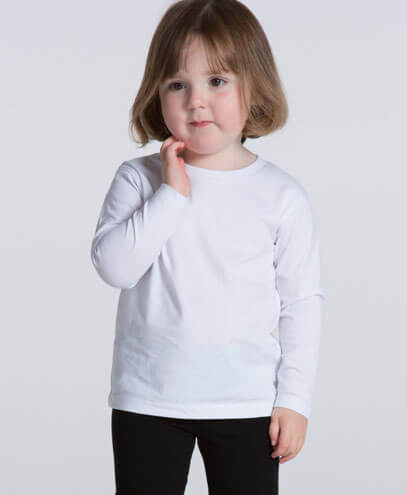 Full Sleeve Kids T-Shirts (Sizes 12M-7T)