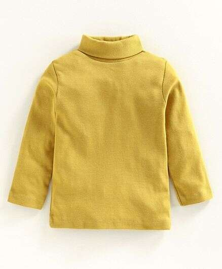 Turtleneck T-Shirt For Children (Sizes 1-13 Years)