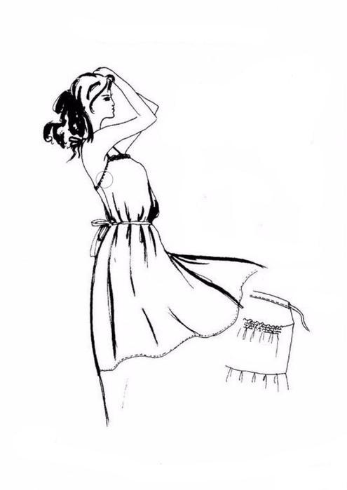 Go Vintage 3092 - Sundress Sewing Pattern For Women (Sizes 36-58 Eur)