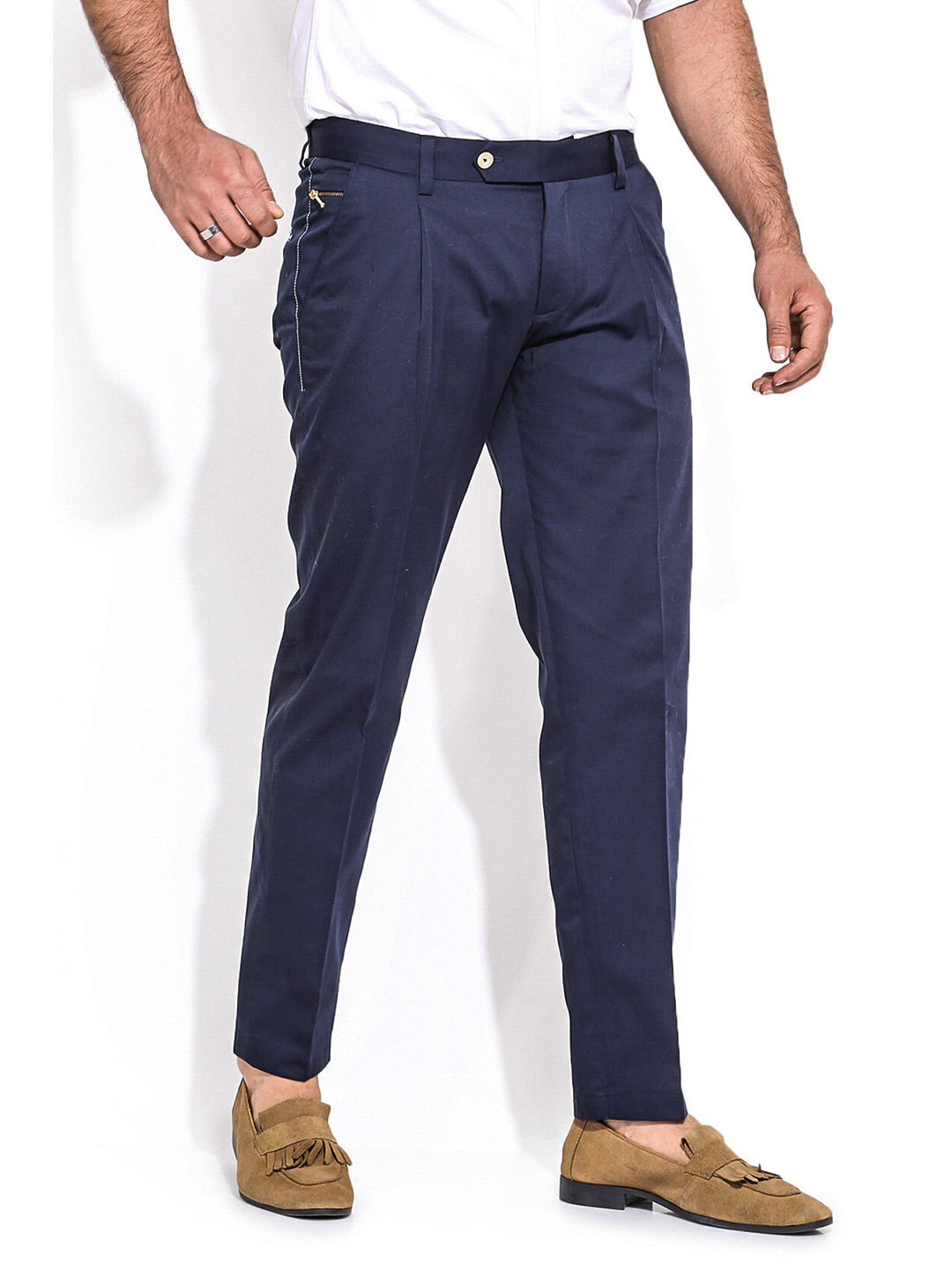 Men's Trousers Sewing Pattern (Sizes 46-56 Russian)