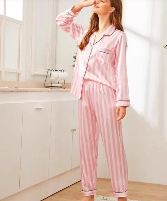 Vintage Pajama Set Sewing Pattern For Women (Sizes 34-50 Eur)
