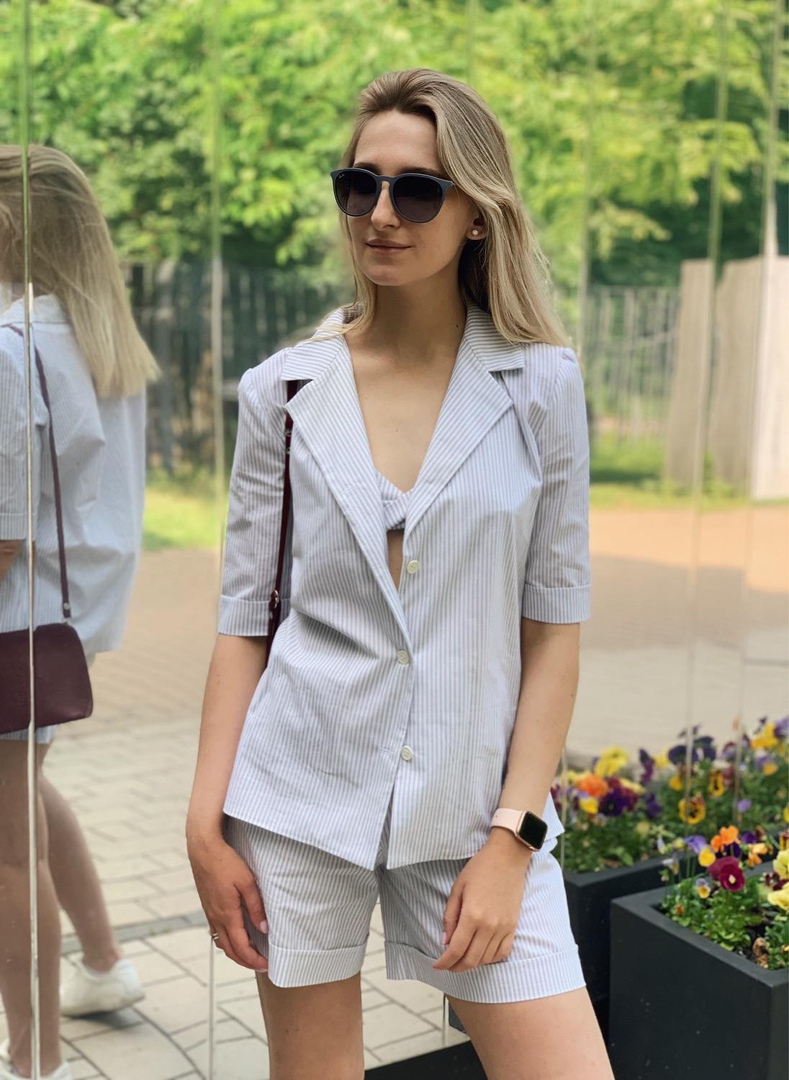 Fashionable Suit For Women (Sizes 40-42-44 Russian)