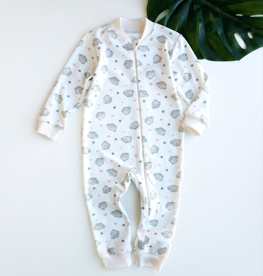 Sleepsuit Sewing Pattern For Babies (Sizes 3M-3T)