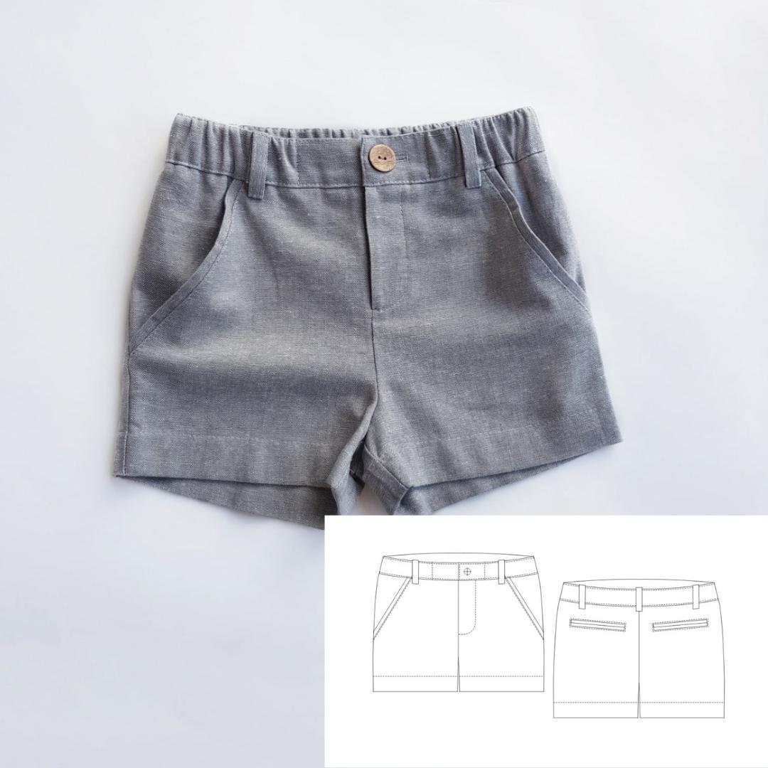 Children's Shorts (Sizes 12M-10T)