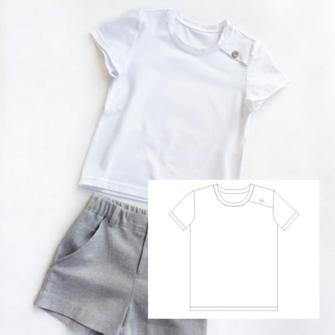 Children's T-shirt (Sizes 12M-8T)