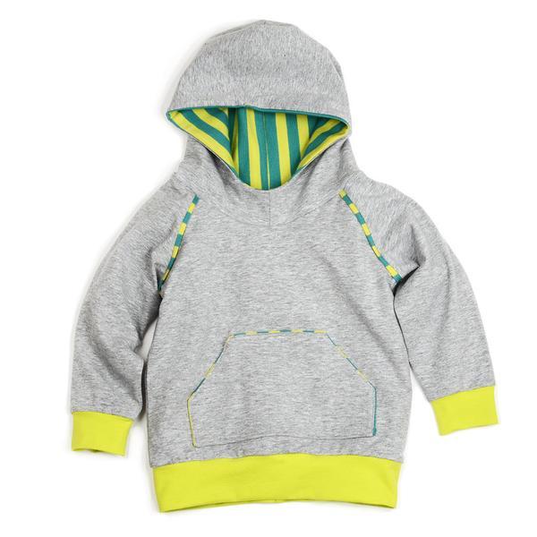 Hooded Raglan Sweatshirt (Sizes 0M-6T)