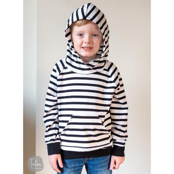 Raglan Hoodie For Kids (Sizes 6T-14T)