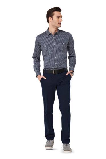 Men's Shirt Sewing Pattern (Sizes 44-60 Eur)