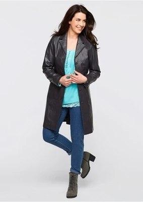 Women's Lapel Winter Coat Sewing Pattern (42-48 Eur)