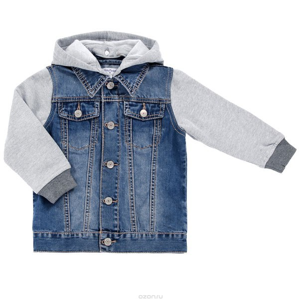 Classic Jeans Jacket Sewing Pattern For Kids (Sizes 24M-6Years)