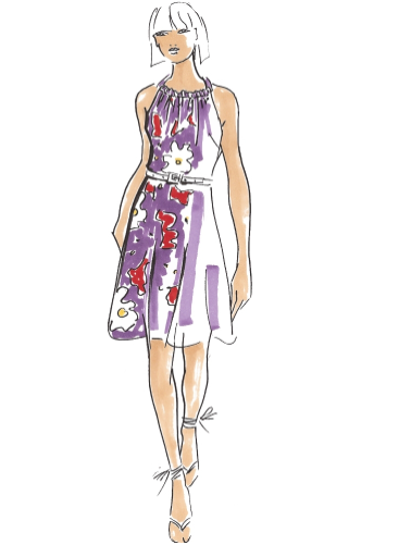 Aimee Dress Sewing Pattern For Women (Sizes 34-46 Eur)