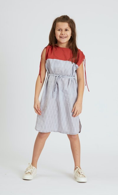 Sporty Dress Sewing Pattern For Girls (Sizes 3-9 Years)