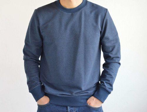 Men's Jumper Sewing Pattern (Sizes 46-52 Eur)