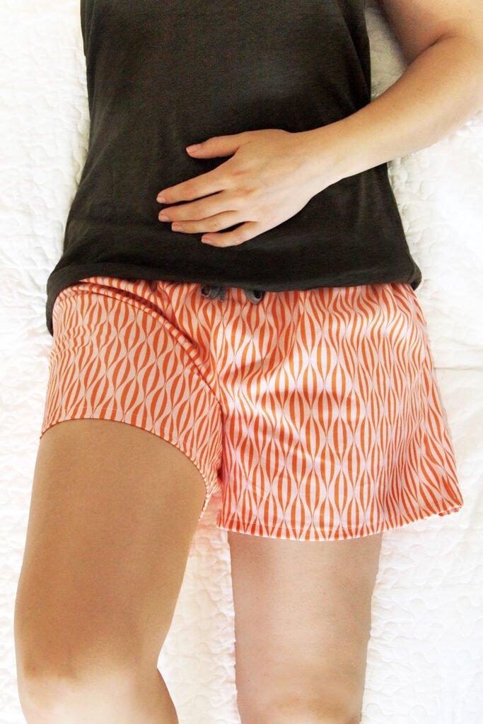 Lounge Shorts Sewing Pattern For Women (Sizes 36-46 Eur)