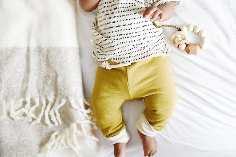 Leggings Sewing Pattern For Babies (Sizes 3M-6M)