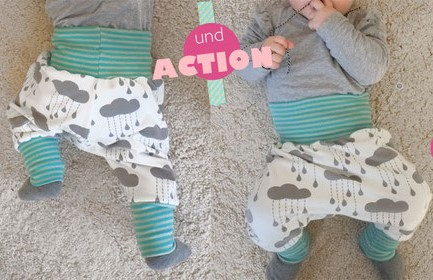 Baby Bloomer Pants Sewing Pattern (Sizes 0-3M)