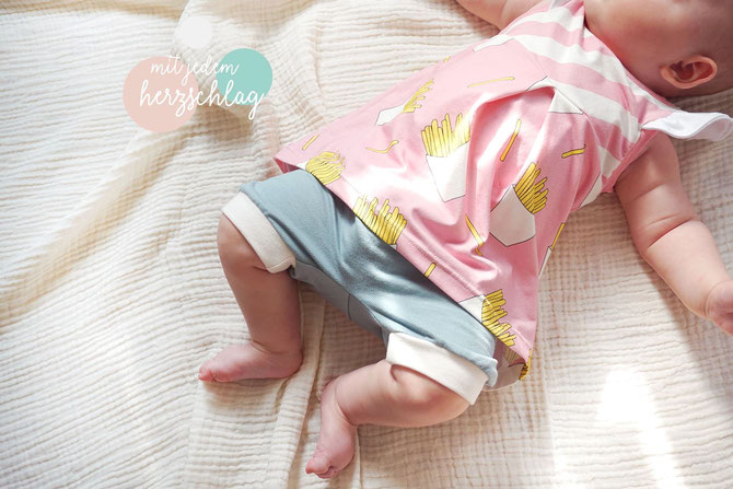 Tunic Sewing Pattern For Babies (Sizes 3M-6M)