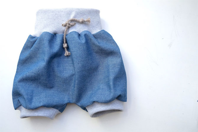 Children's Knitted Shorts Sewing Pattern (3M-6Years)