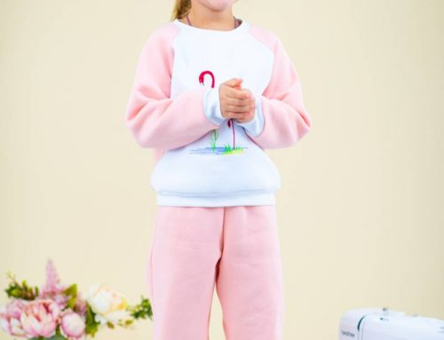 Children's Sweatpants Sewing Pattern (Child's Height 68-158)