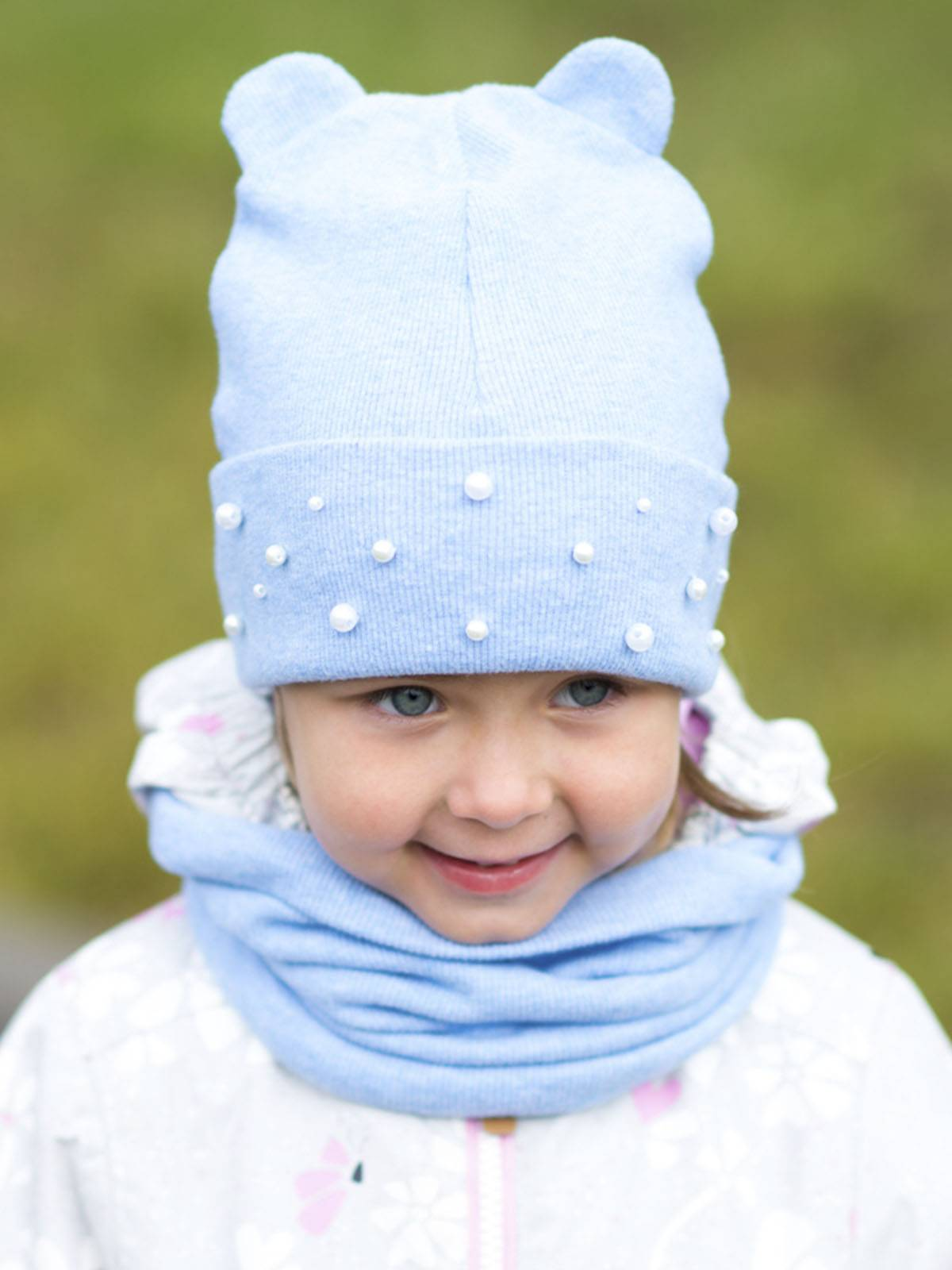 Hat With Ears And Snood Sewing Pattern (Sizes 12M-10T)