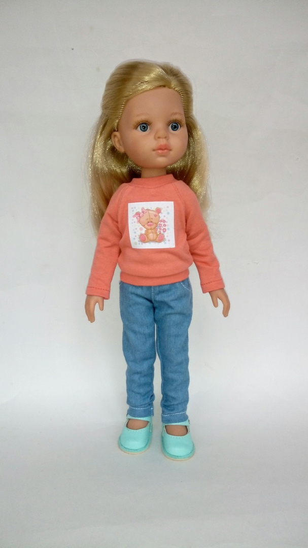 Jeans Sewing Pattern For Doll