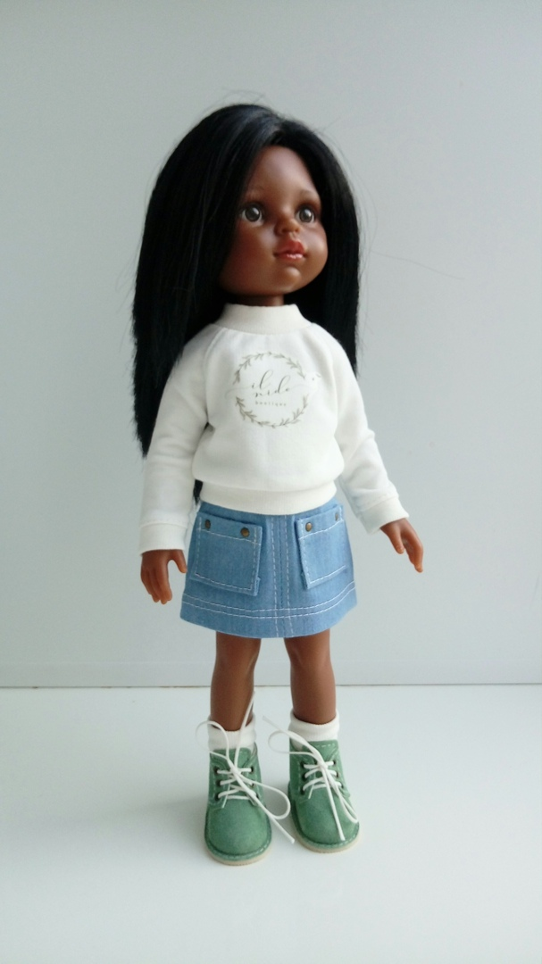 Skirt Sewing Pattern For Doll