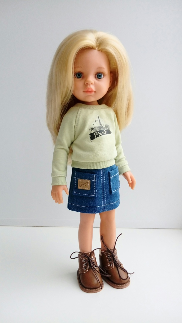 Sweatshirt Sewing Pattern For Doll
