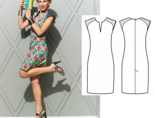 Shift Dress Sewing Pattern For Women (Sizes 36-46 Eur)