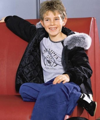 Boys Hooded Coat Sewing Pattern (Sizes 8-13 Years)