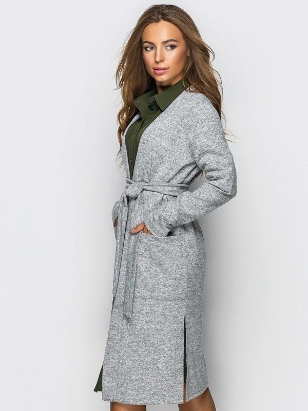 Long Knit Cardigan Sewing Pattern For Women (Sizes 34-46 Eur)