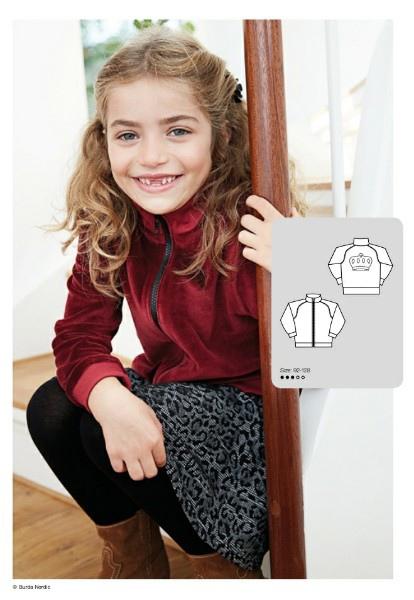 Children's Cardigan Sewing Pattern (Sizes 18 M-8 T)