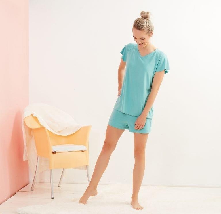 Women's Pajama Shorts With Pockets (Sizes XS-4XL)