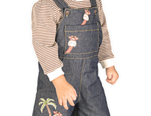 Dungaree Sewing Pattern For Babies (Sizes 2-10)